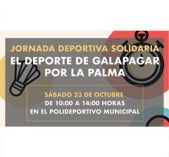 Galapagar | Jornada Deportiva por os afectados por el volcán de la Isla de La Palma