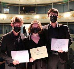 """San Lorenzo de El Escorial   El Trío Lachangriff se alza con el primer premio del I Concurso de Música de Cámara """"Giuseppe Mancini"""""""