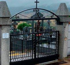 Robledo de Chavela   Embellecimiento exterior del cementerio